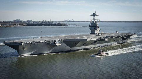 Así se construye el portaaviones más caro y grande del mundo