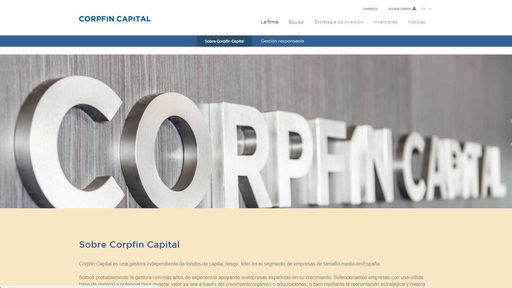 Foto: Página web de Corpfin Capital.