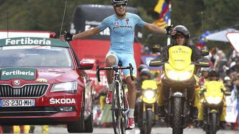Exhibición de Landa y Astana en la etapa reina el día que Froome se hundió