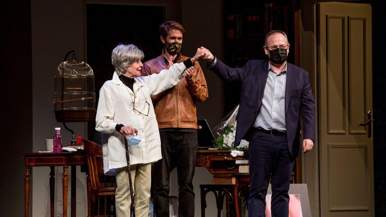 Concha Velasco: las 24 horas de la despedida teatral de la actriz contadas por su hijo