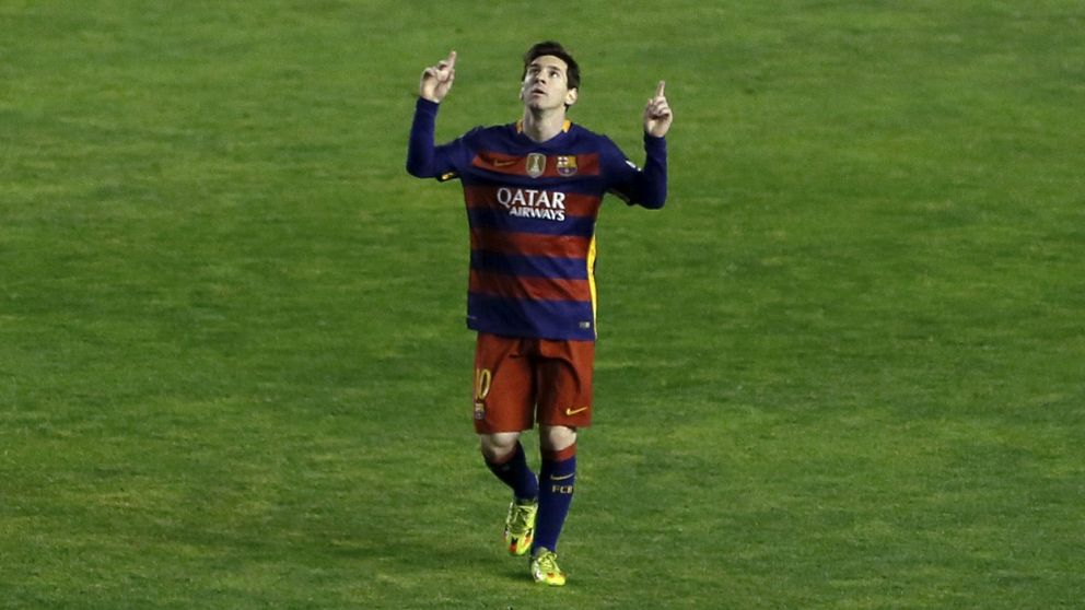 Menos mal que el gran objetivo de Messi no era ser Pichichi otra vez