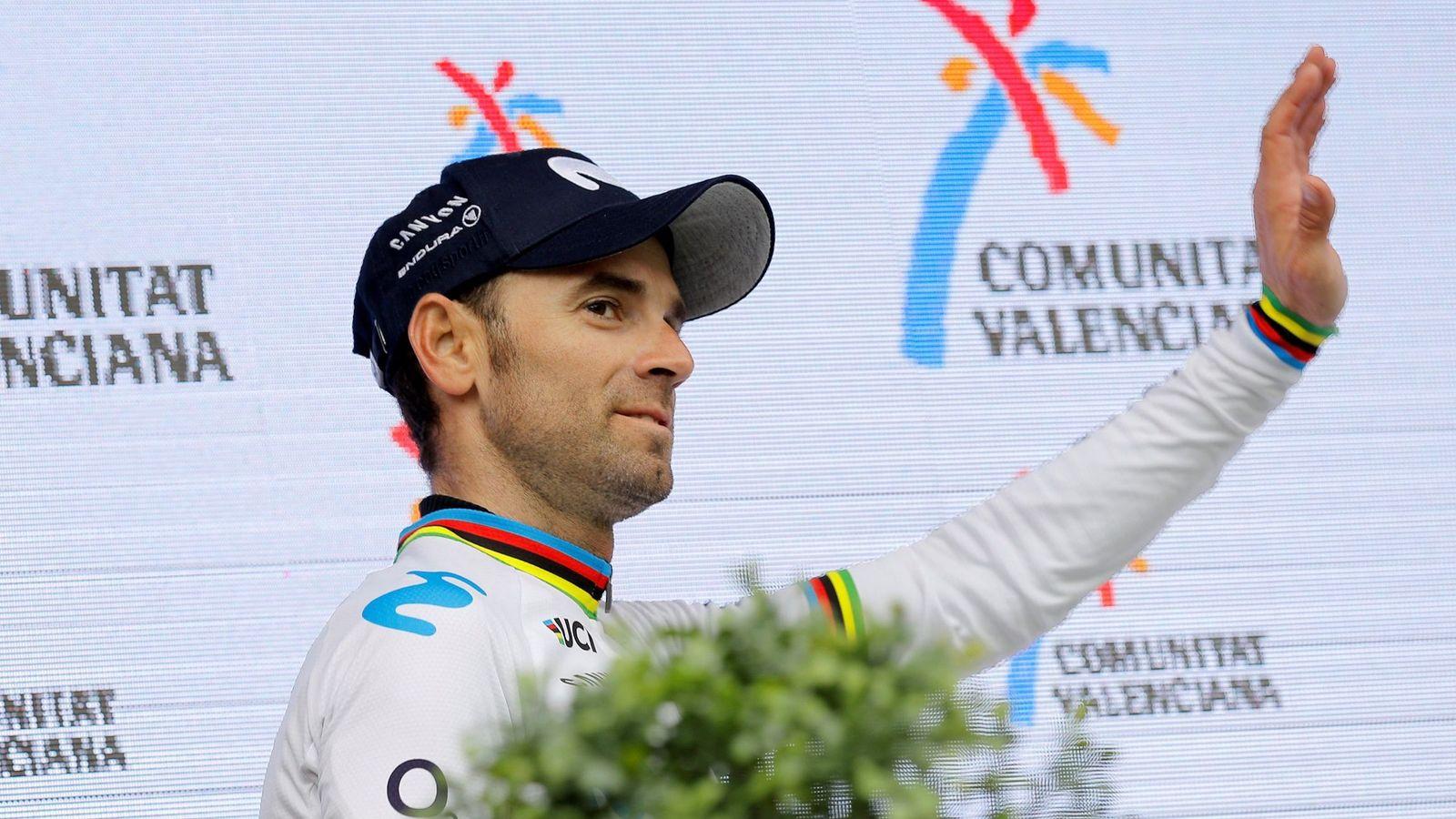 Foto: Alejandro Valverde, el campeón del mundo, anuncia su retirada para 2021. (EFE)