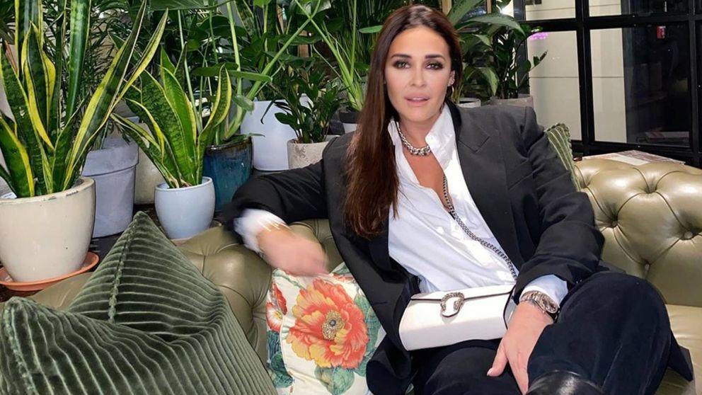 Vicky Martín Berrocal apuesta en Londres por el pantalón más rompedor de Zara