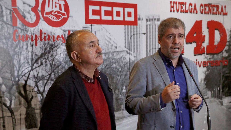 Los sindicatos anuncian un calendario de movilizaciones por la inacción de Sánchez