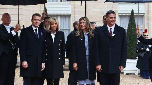 Begoña Gómez se 'merienda' la agenda internacional de la reina Letizia