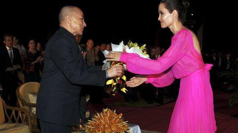 Angelina Jolie visita Camboya