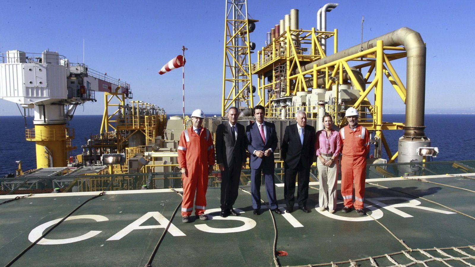Foto: Fabra, Soria Y Margallo en las instalaciones de Castor en el año 2013