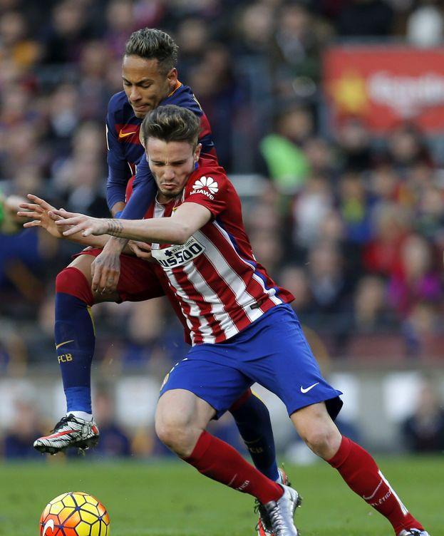 Foto: Saúl se está ganando un sitio en el once del Atlético (EFE).