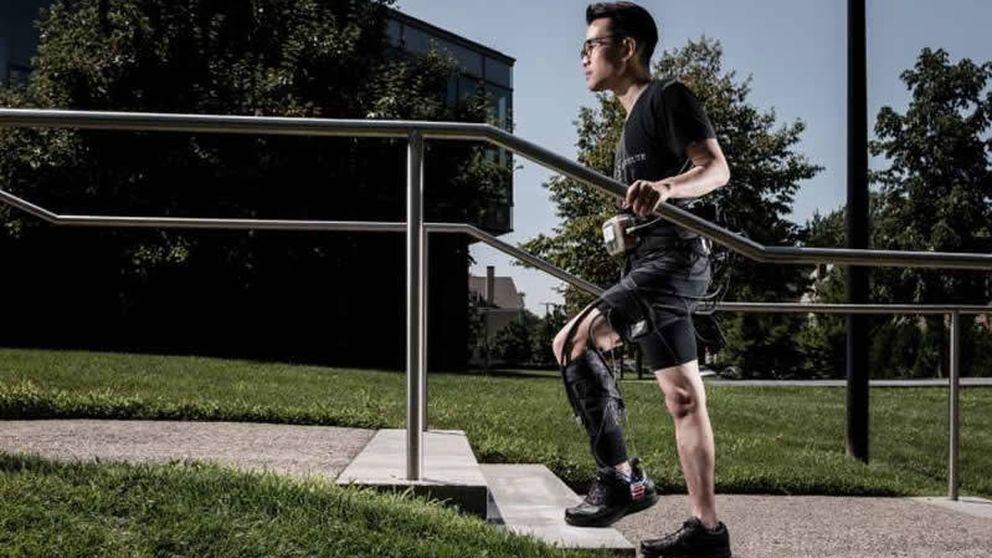 Un exotraje para mejorar la movilidad de las personas tras un ictus