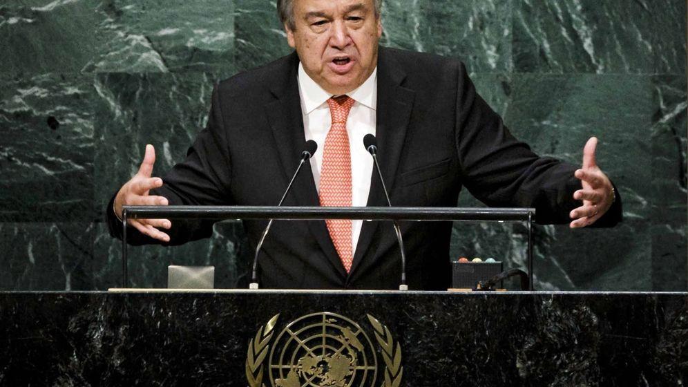 Foto: El recién designado secretario general de la ONU, António Guterres, en la sede de la Organización de las Naciones Unidas en Nueva York, Estados Unidos. (EFE)
