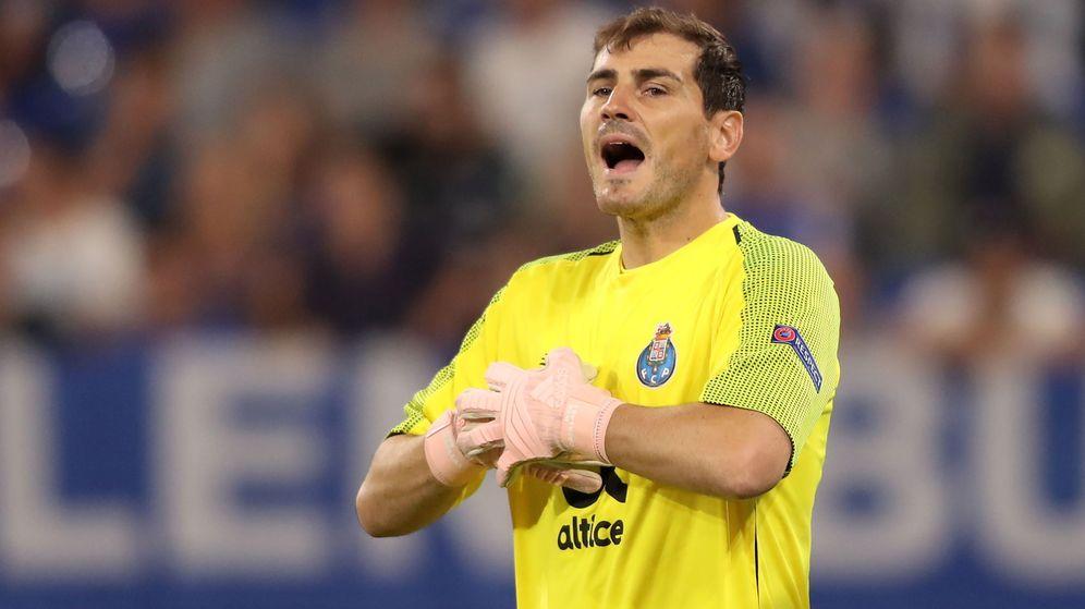Foto: Iker Casillas sufrió un infarto el miércoles durante un entrenamiento del Oporto. (EFE)