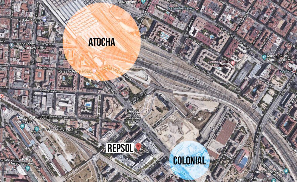 Foto: Colonial se ha hecho con la última gran bolsa de suelo de oficinas de la almendra central de Madrid.