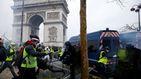 Cien heridos y 288 detenidos en París en las protestas de los 'chalecos amarillos'