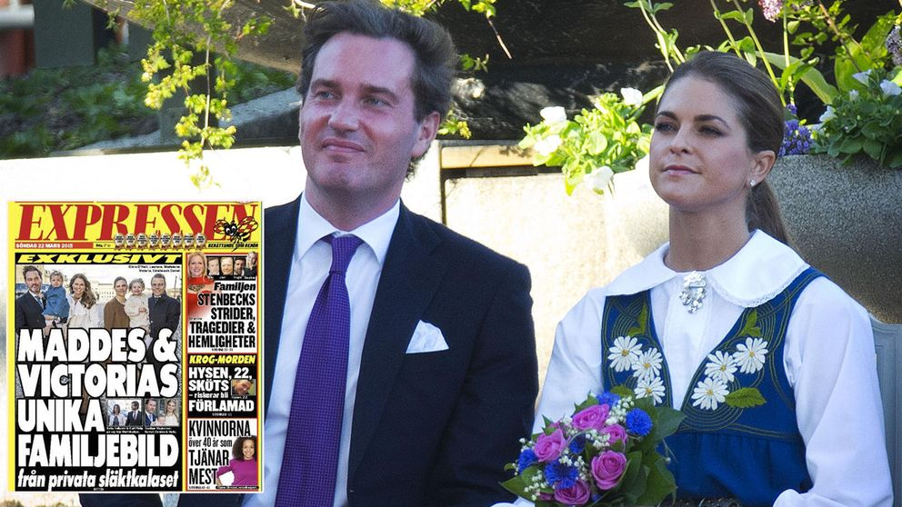 Magdalena y Chris reaparecen juntos a pocos meses de ser padres