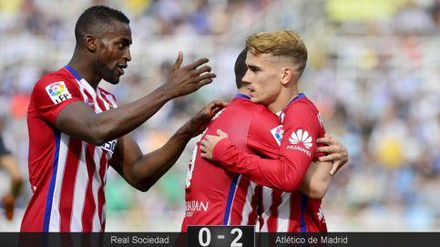 Griezmann es el único que sabe jugar entre la Real Sociedad y el Atlético