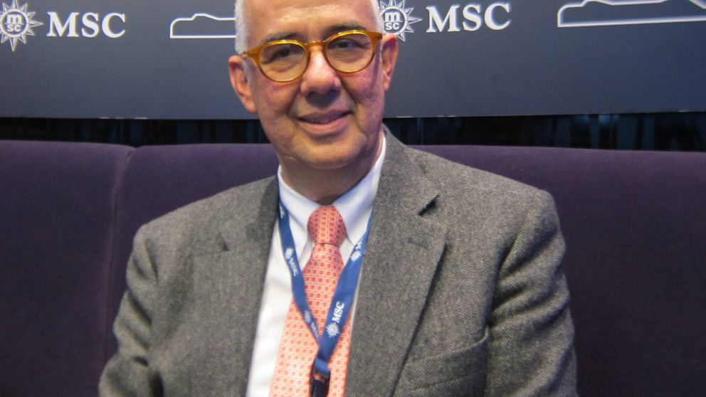 Muere por coronavirus el presidente de MSC España, Emiliano González