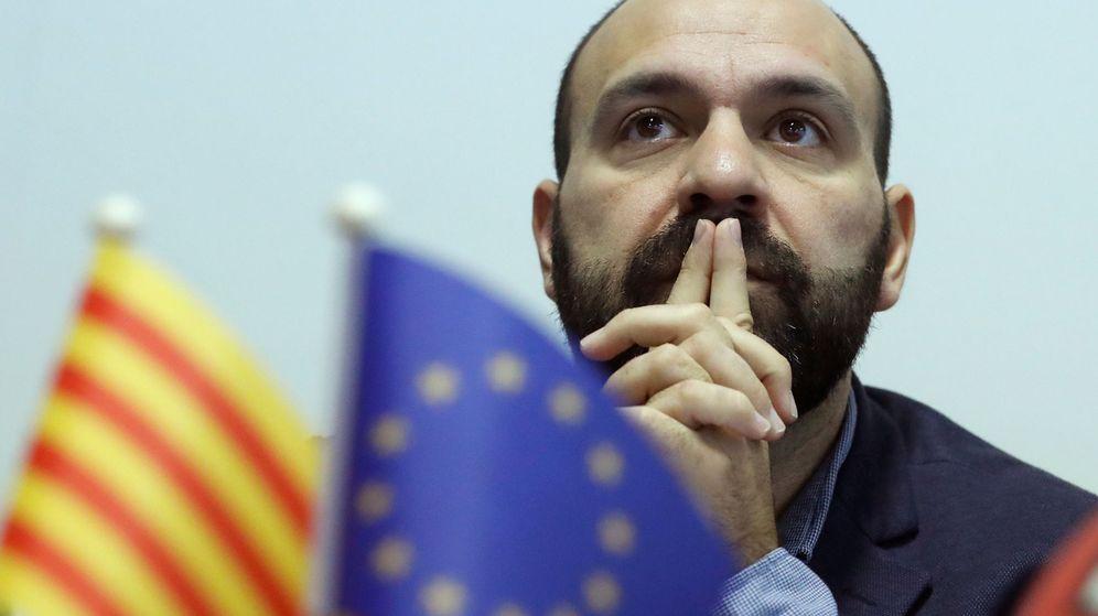 Foto: El vicepresidente de Òmnium Cultural, Marcel Mauri, en Bruselas. (Reuters)