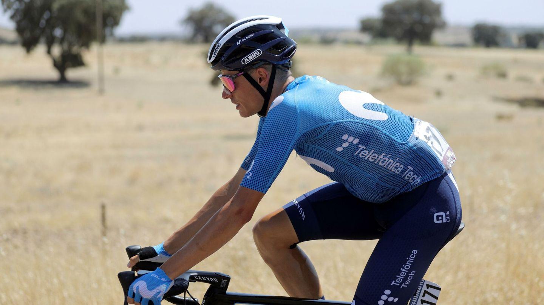 Enric Mas, segundo de la clasificación final. (Efe)