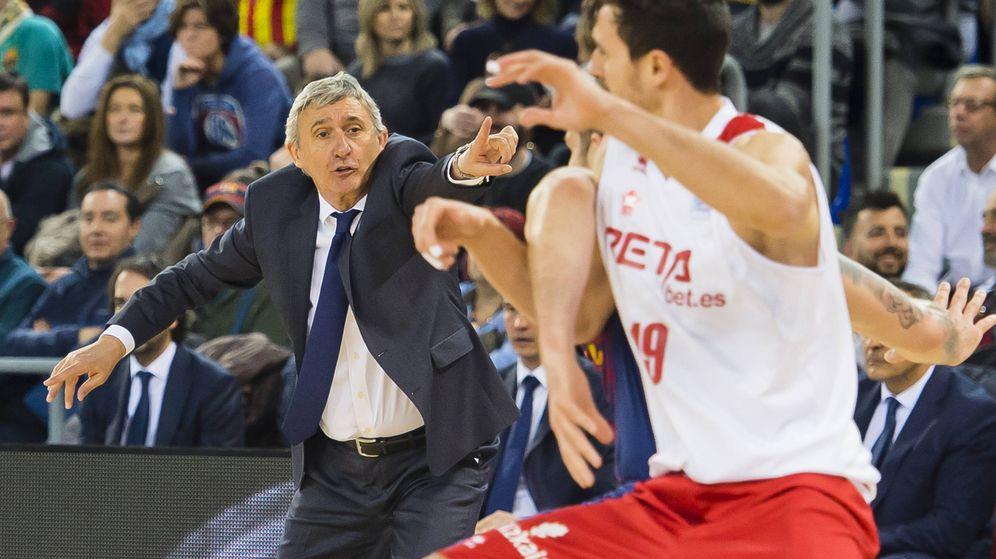 Foto: Svetislav Pesic regresó hace una semana al FC Barcelona casi 14 años después de entrenarlo. (ACB Photo/V. Salgado)