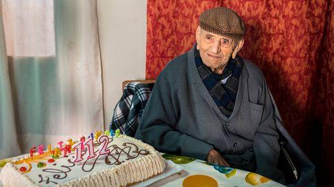 El hombre más viejo de España; uno entre 1.000 millones