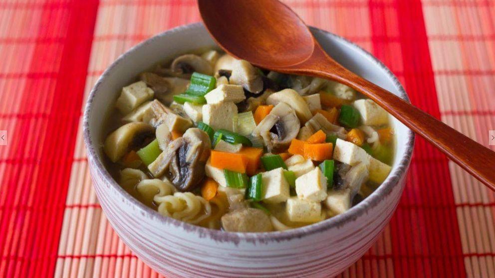 Como en Japón: sopa de miso rápida