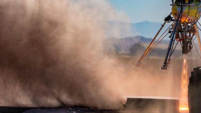 Test del sistema en el desierto de Mojave. (Mesen)
