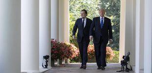 Post de  Rajoy en la Casa Blanca: una visita más acogedora que con Obama
