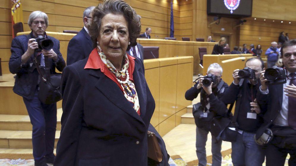 Foto: Rita Barberá en el Senado. (Efe)