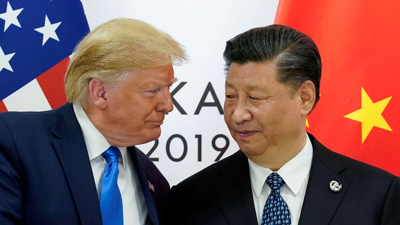 Donald Trump y Xi Jinping (Reuters)