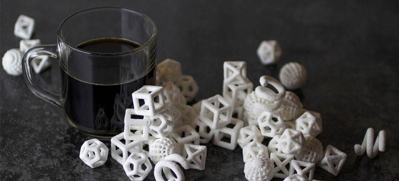 Foto: Azucarillos en 3D. Esta es una de las creaciones culinarias más famosas de The Sugar Lab