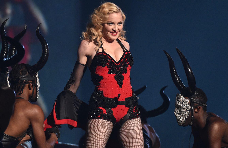 La cantante Madonna en la gala de los premios Grammy (Gtres)