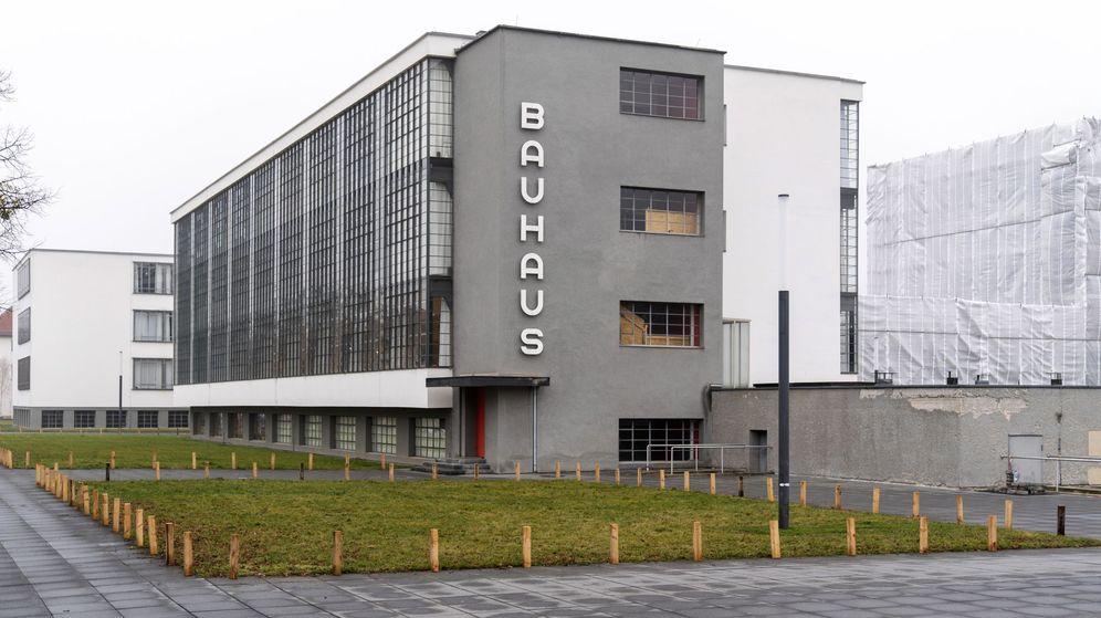Foto: El edificio de la Bauhaus en Dessau, Alemania. (EFE)