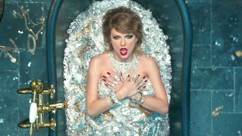 La cantante Taylor Swift en una imagen de archivo de un videoclip.