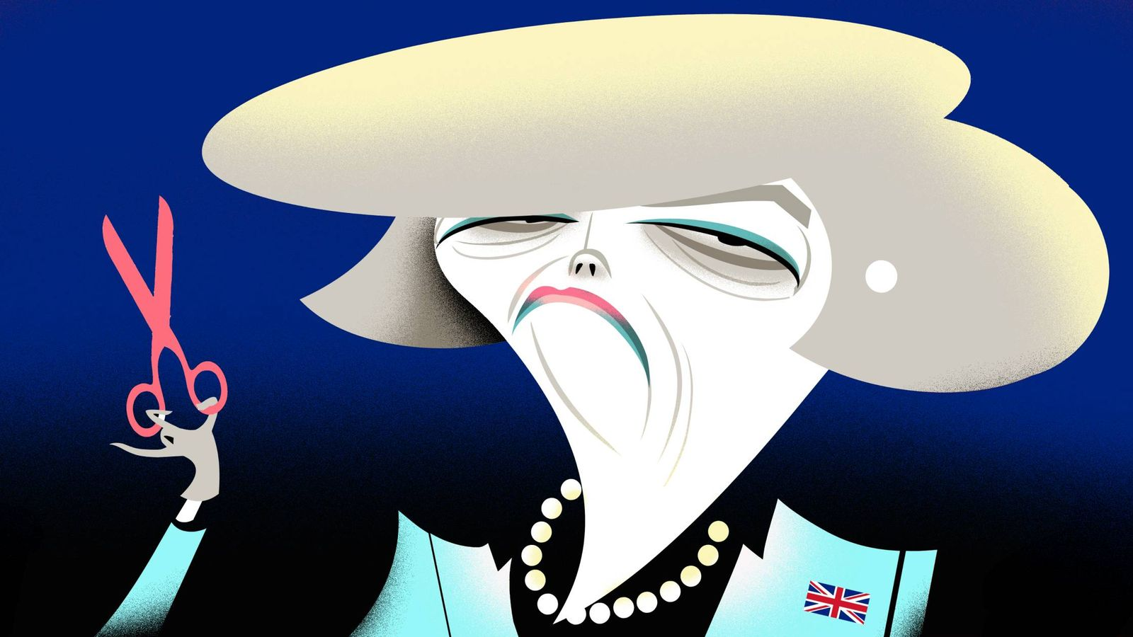 Foto: Theresa May. (Ilustración: Raúl Arias)