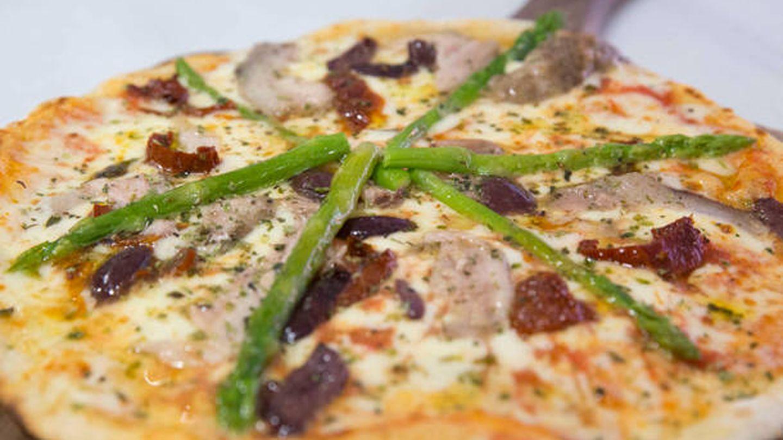 Pizza de Premiata Ballaró.