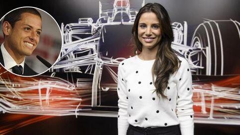 Lucía Villalón no sale del vestuario blanco: es la novia de 'Chicharito'