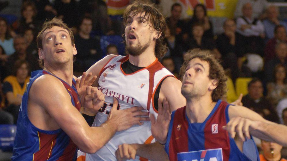 Foto: Marc Gasol fue elegido 'MVP' de la ACB cuando jugaba en el Akasvayu Girona en la temporada 2007-2008. (Cordon Press)