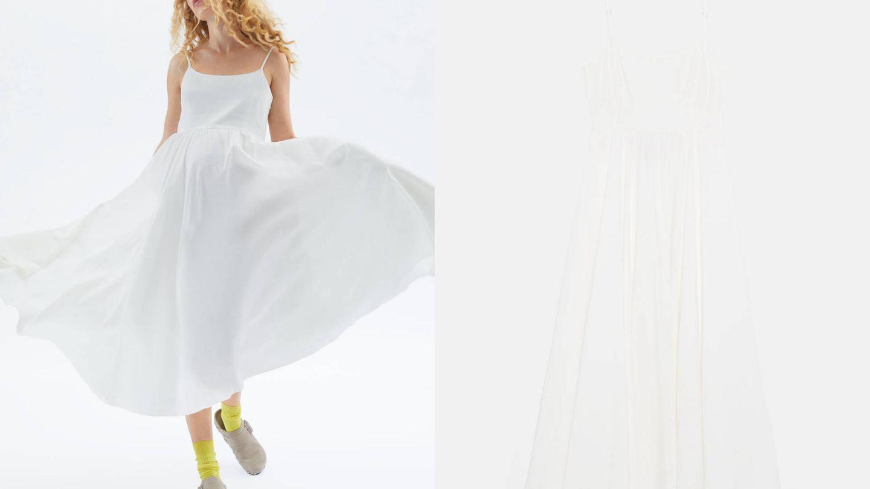 Vestido de edición limitada de Zara, colección 'Mum' (39,95€).
