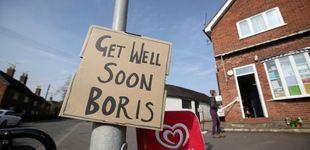 Post de Boris Johnson mejora del Covid-19: sale de cuidados intensivos y seguirá en el hospital