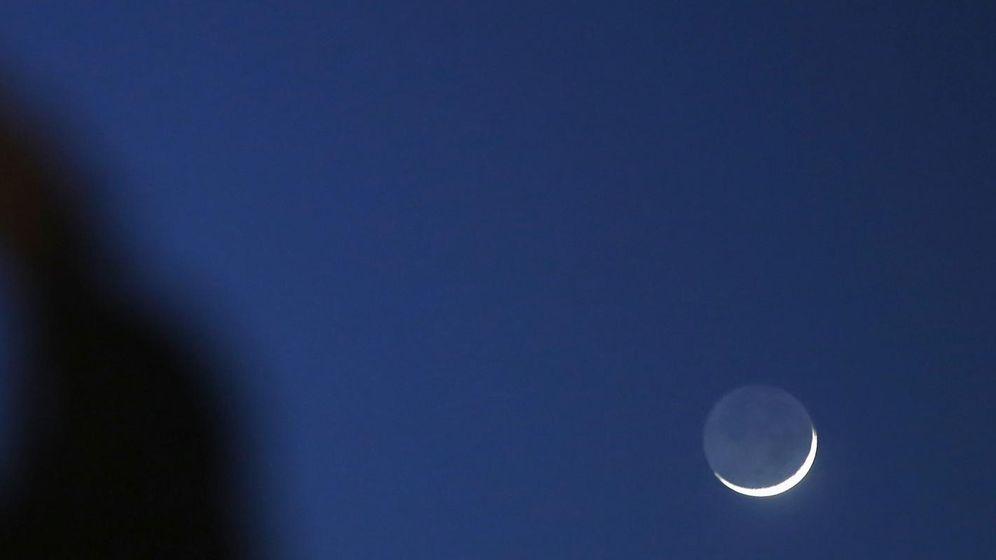Foto: Venus y Marte, junto a la Luna. (Reuters)