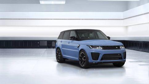 El SUV más rápido de Land Rover estrena pinturas hechas con vidrio triturado
