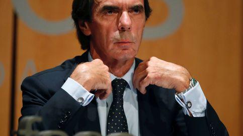 Aznar: Legué un espacio unificado y Casado lo ha heredado troceado en tres