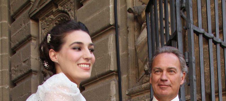 Foto: Bertín Osborne junto a su hija el día de su boda (I. C)
