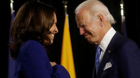 El debut de la 'vicepresidenta': Kamala Harris saca a bailar a Joe Biden