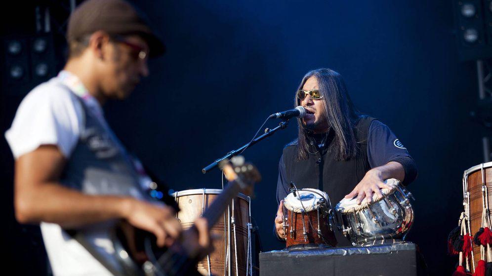 Foto: Asian Dub Foundation en concierto. (EFE)