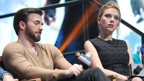 Scarlett Johansson se lleva un 'susto de muerte' de Chris Evans