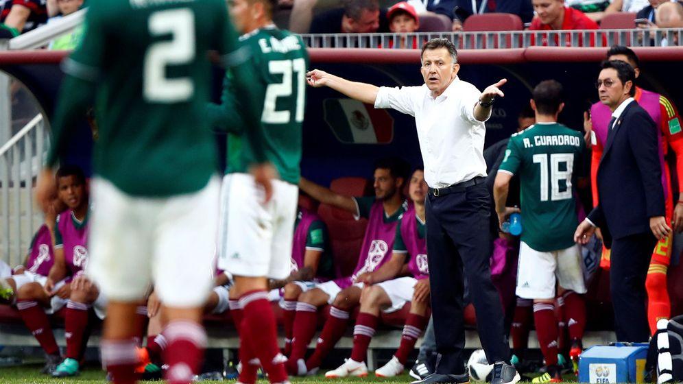 Foto: Juan Carlos Osorio, en el partido contra Alemania. (Reuters)