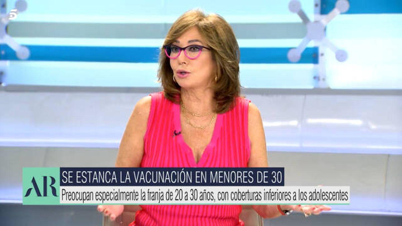 Ana Rosa Quintana, en 'El programa de AR'. (Mediaset)