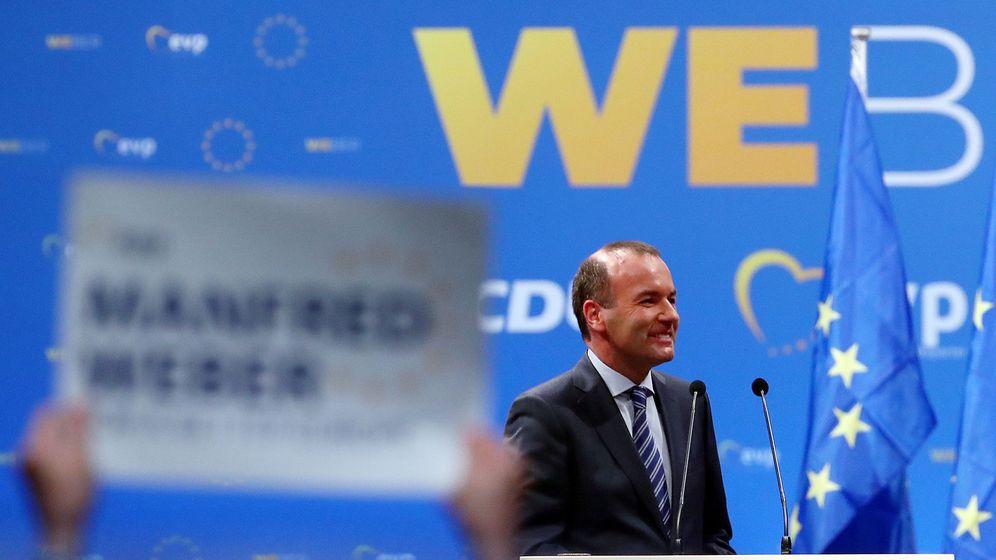 Foto: El líder del Partido Popular Europeo, Manfred Weber (Reuters)