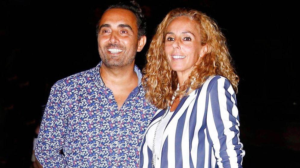 Foto: Fidel Albiac y Rocío Carrasco, en una imagen de archivo. (Cordon Press)